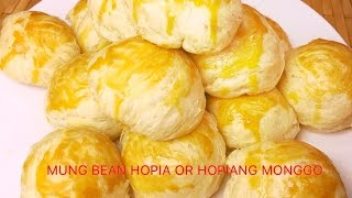 Repeat youtube video How To Make Mung Bean Hopia or Hopiang Monggo (#21)