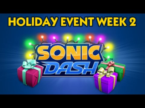 Sonic Dash [PC] - Holiday Event Week 2: Unlocking Silver