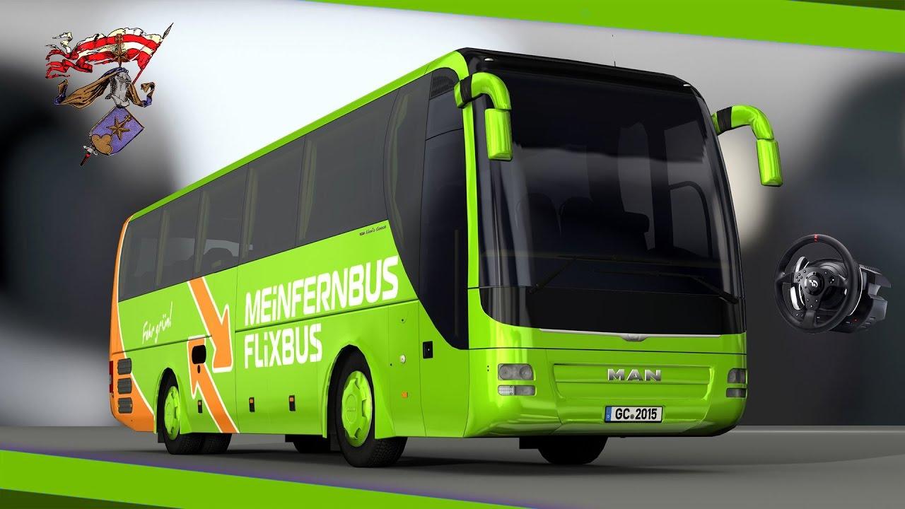 bus simulator man lions coach c berlin nach dresden offizielle strecke youtube. Black Bedroom Furniture Sets. Home Design Ideas