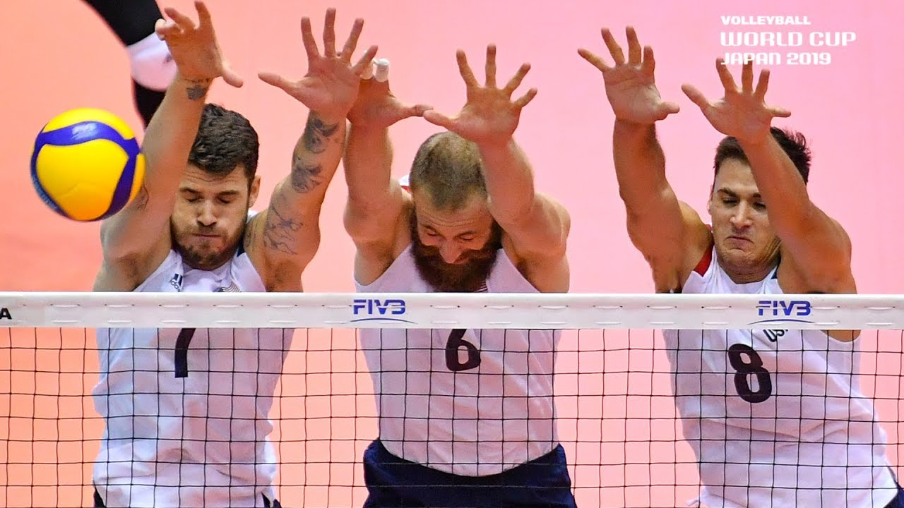 Lights Out! | Most Impressive Stuffed Blocks of the Men's Volleyball World Cup 2019