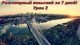 Выучить разговорный польский за 7 дней! Урок 2