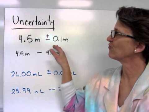 Uncertainty & Measurements