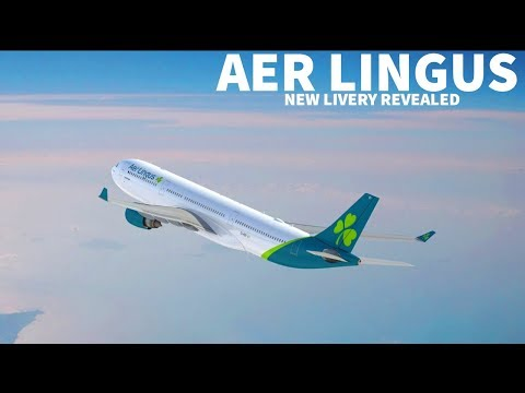 Aer Lingus Unveils New Livery