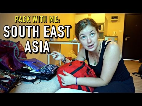 PACK WITH ME: South East Asia Edition