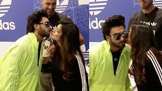 Ranveer Singh KISSING Deepika in Public