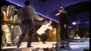 Съемка твиста Умы Турман и Джона Траволты в фильме Криминальное чтиво