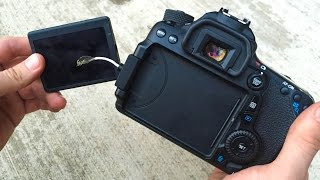 Skateboarding Broke my Canon 70D