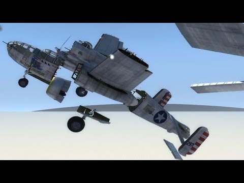 B-25 Mitchell Extra Testing - BeamNG.drive
