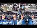 BMW 8 Series M850i vs Bentley Continental GT W12 0-250km/h SOUND & AUTOBAHN POV by AutoTopNL