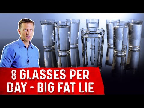 The Drink Gl Water Per Day Big Fat Lie