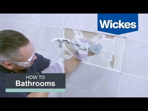 How to Remove and Replace Tiles with Wickes