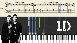 One Direction - Love You Goodbye - Piano Tutorial + Sheets