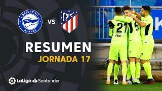Resumen de Deportivo Alavés vs Atlético de Madrid (1-2)