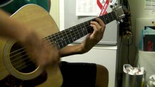 a1 s caught in the middle guitar cover