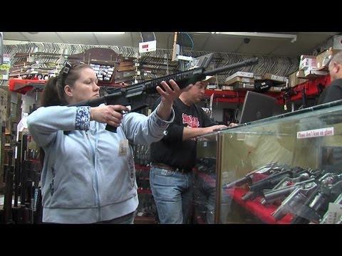 Assault weapon sale