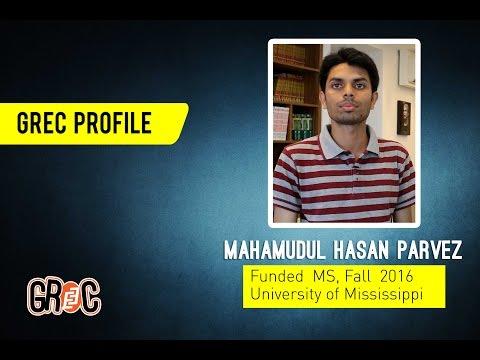 GREC Profile | Ep 09 | Mahamudul Hasan Parvez | Mechanical Engineering | University of Mississippi