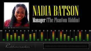 Nadia Batson - Manager (The Phantom Riddim) [Soca 2013]