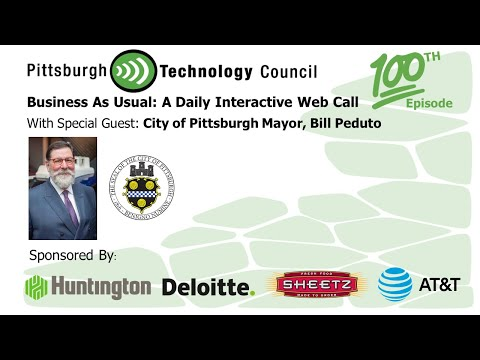 Business as Usual Featuring City of Pittsburgh Mayor Bill Peduto