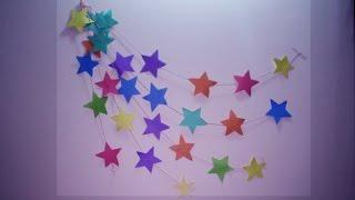 DIY : Wall Hanging Craft Ideas Using Colourful  Paper   Wall Hanging Easy  Tutorial   Wedding Idea thumbnail