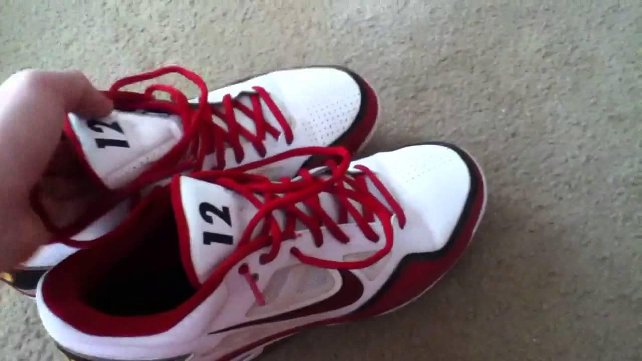 Custom Nike Baseball Cleats - YouTube