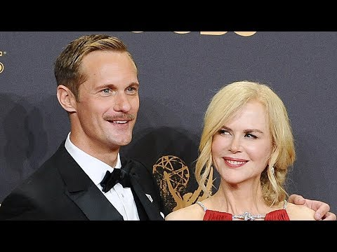 Nicole Kidman & Alexander Skarsgard Win BIG For Big Little Lies At Golden Globes