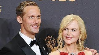 Nicole Kidman & Alexander Skarsgard Win BIG For Big Little Lies At Golden Globes
