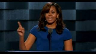 Michelle Obama roasts Donald Trump and shows support towards Hillary Clinton