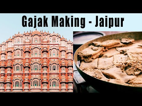 Authentic Gajak Making Process  - Jaipur | How To Make Traditional Gajak