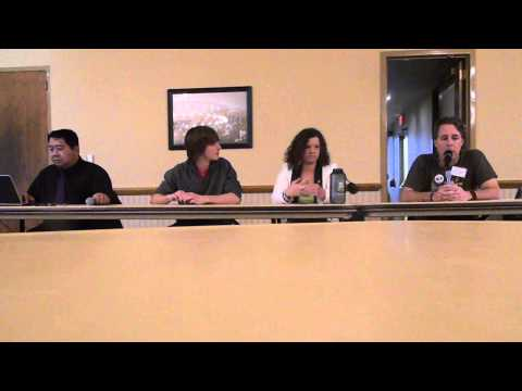 DSCN9012 2013-04-17 Part 2 Panel Discussion Environmental Organizations & Activism NIU
