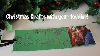 Toddler friendly Christmas Crafts, DIY, How to! Thumbnail
