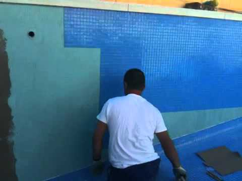 Gresite youtube for Gresite piscina bricodepot
