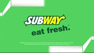 klio8t98gihTV Commercial - Subway Better Choices - Featuring Jared Fogle - Eat Fresh