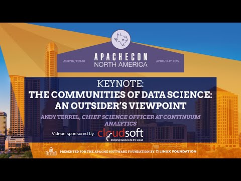 The Communities of Data Science: An Outsider's Viewpoint