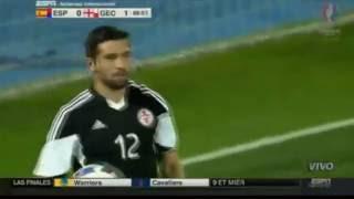 Spain vs Georgia 0-1 07.06.2016- Full Highlights - Spanish Commentary HD