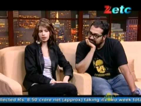 Komal Nahta with Kalki & Anurag Kashyap