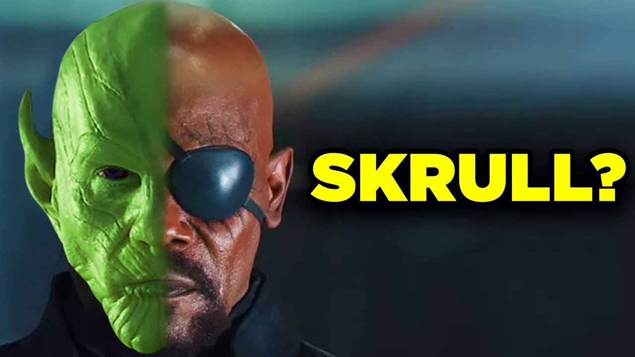 nick fury and skrulls