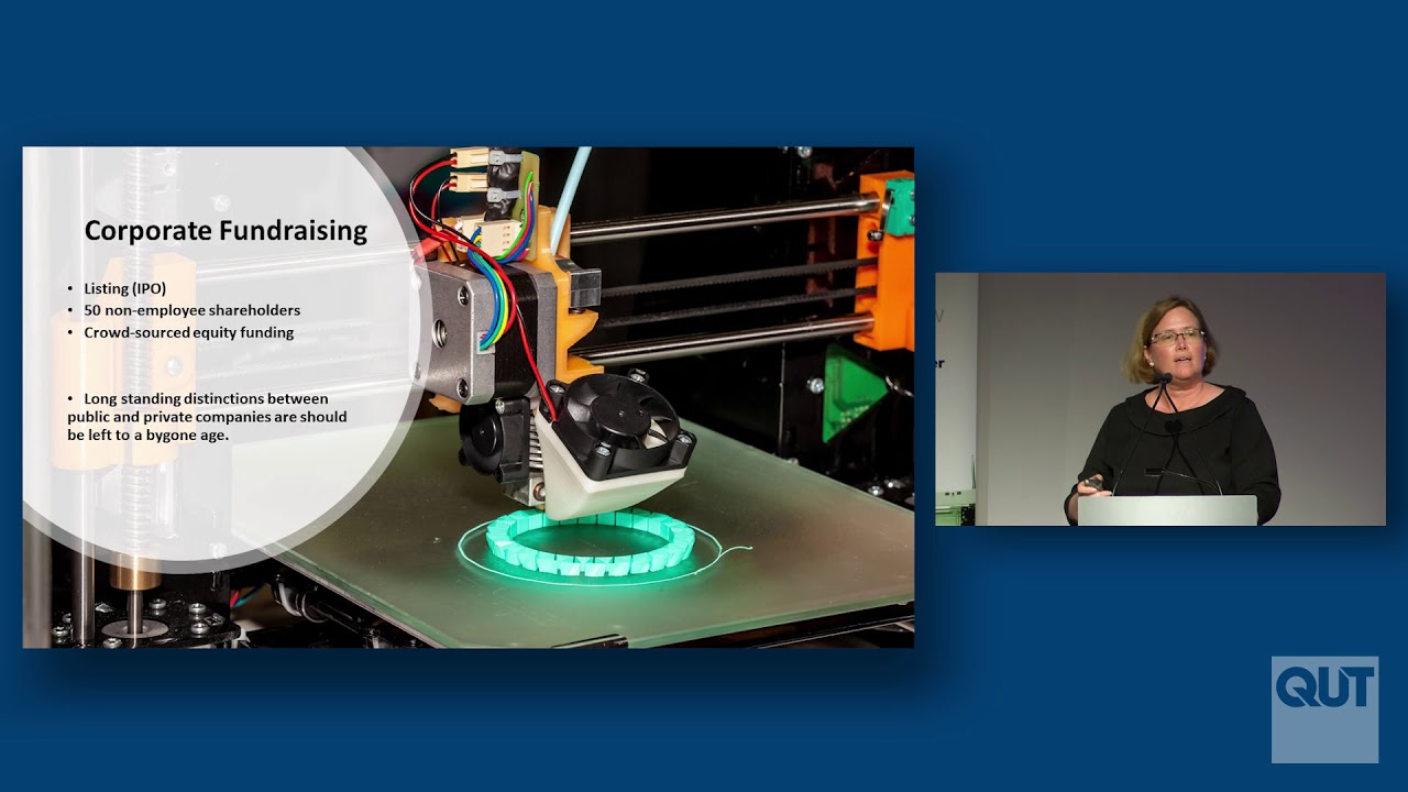 3D Printing: Funding the Road-trip to Scale - Anne Matthew, QUT