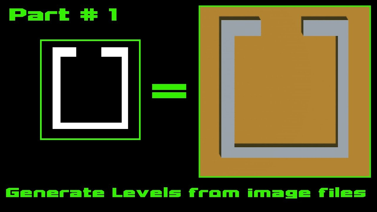 Generate level from image file - Pt 1: Reading the Image - Unity Tutorial
