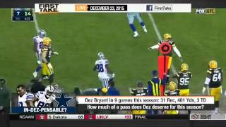 ESPN First Take Today (12/23/2015) - How much of a pass does Dez deserve for this season?