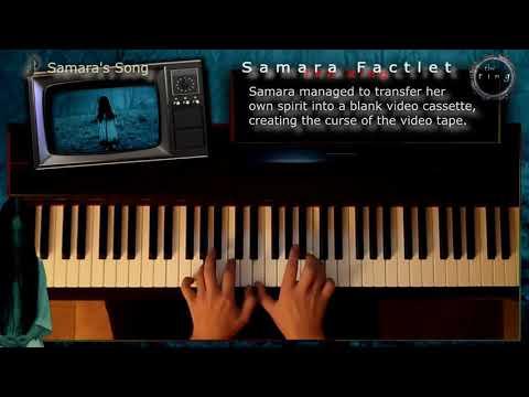 The Ring - Samara's Song, Piano