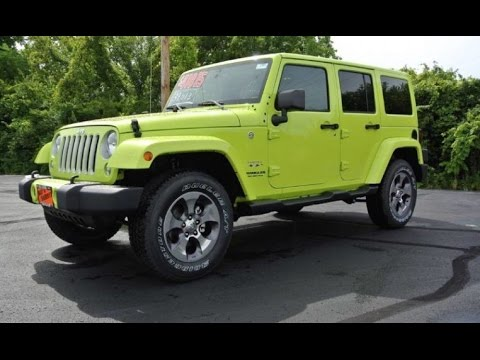 2016 jeep wrangler unlimited sahara for sale dayton troy piqua sidney ohio 27685t youtube. Black Bedroom Furniture Sets. Home Design Ideas