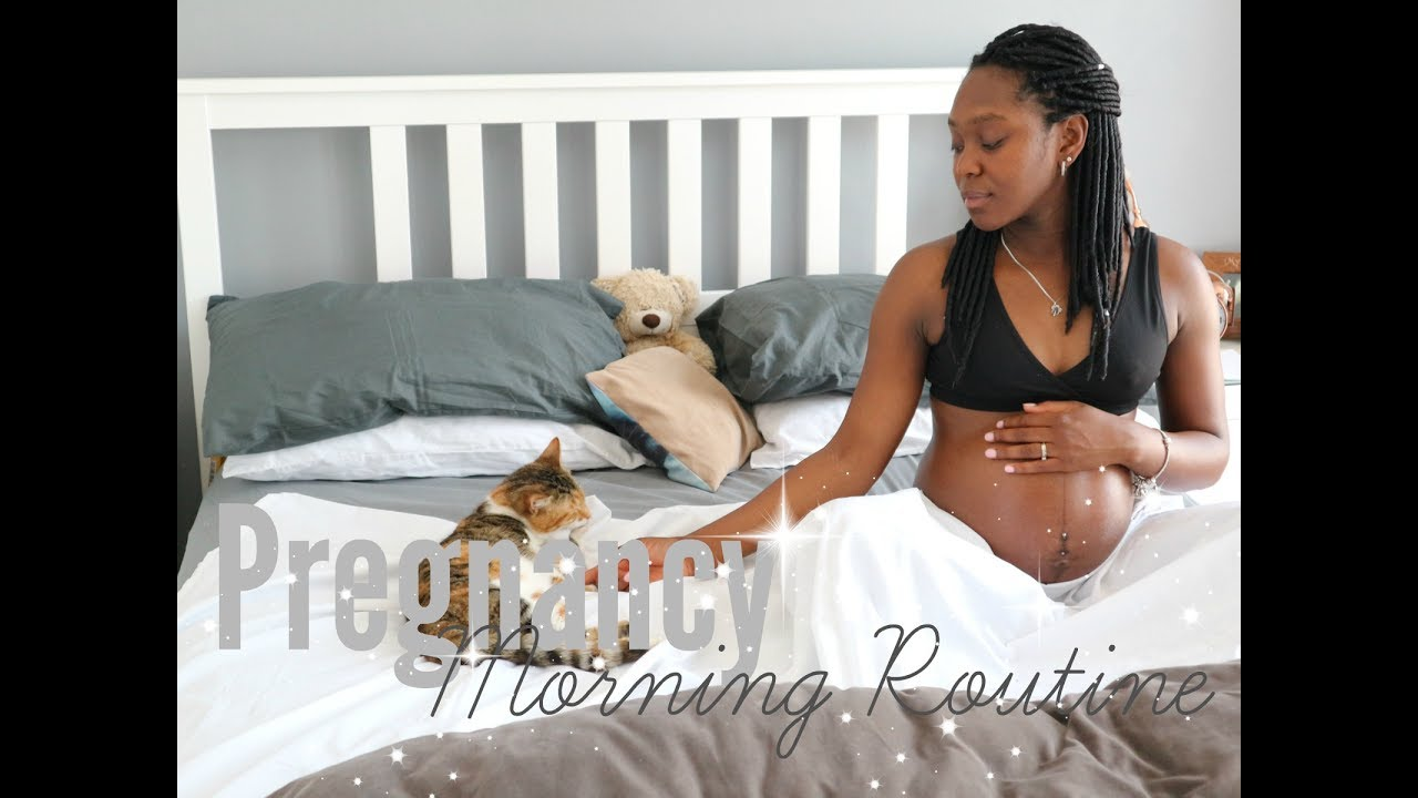 My Pregnancy Morning Routine