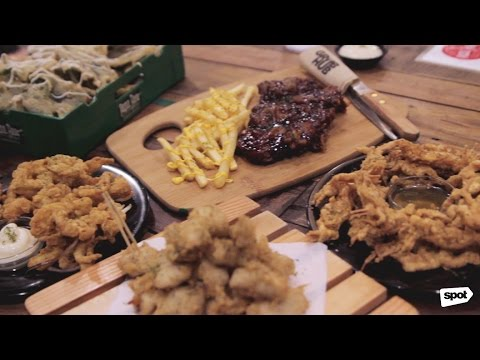 Grub Hub in Quezon City offers a fun food park experience