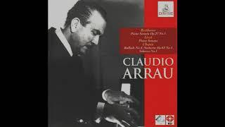 Chopin ballade no. 4 in f minor, op. 52 by claudio arrau