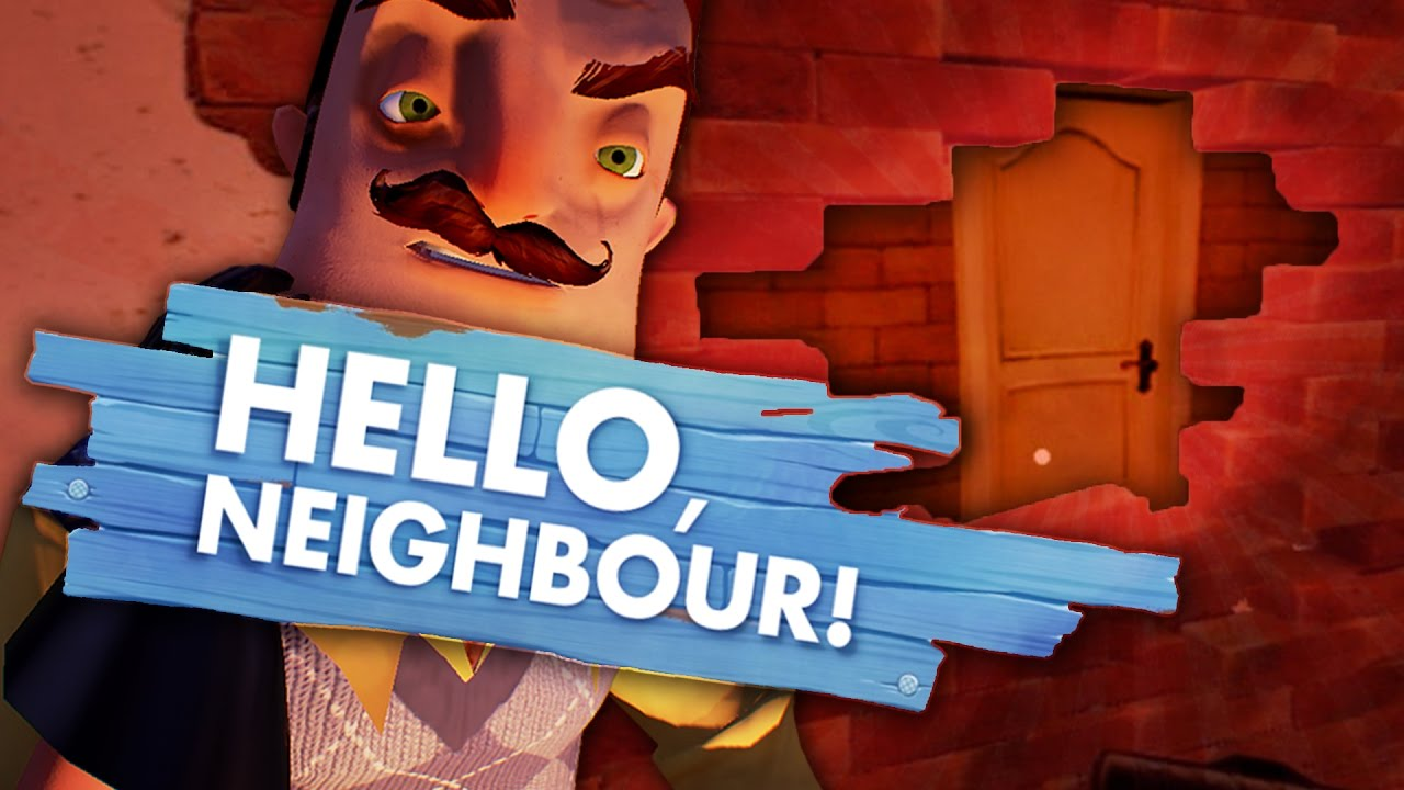 Secret Room Behind The Wall Hello Neighbor Game Hello