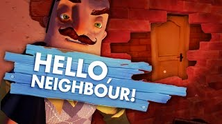 SECRET ROOM BEHIND THE WALL! (Hello Neighbor Game/ Hello Neighbour Gameplay)