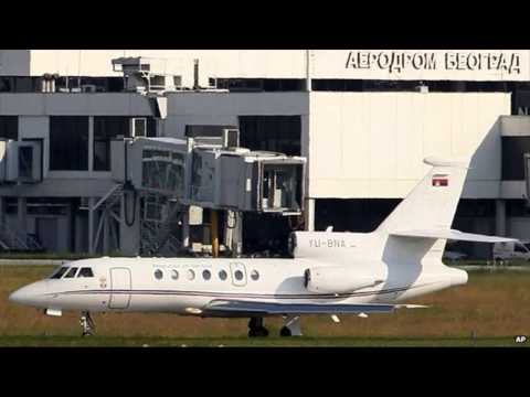 Serbian scare on president's plane after coffee spill