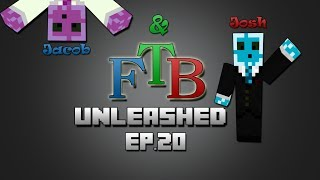Minecraft FTB Unleashed Modpack Multiplayer Ep 20 Quantumsuits