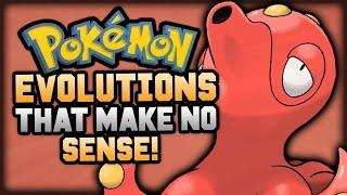 Top 5 Pokemon Evolution Lines That Make NO Sense