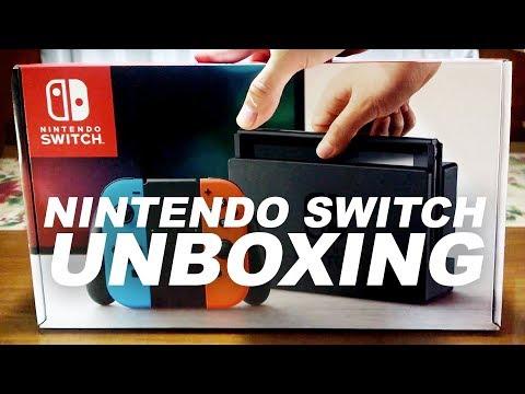 Nintendo Switch Neon Unboxing - Lazada Philippines November Sale!